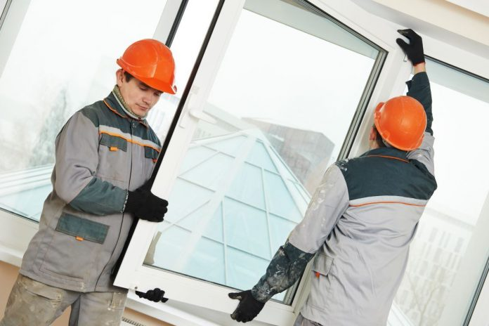 Manufacture of doors and windows of metal